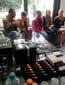Dik Peeters werkt samen met KOH Cosmetics tijdens visagie-examen van juli 2013