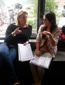 Dik Peeters werkt samen met KOH Cosmetics tijdens visagie-examen