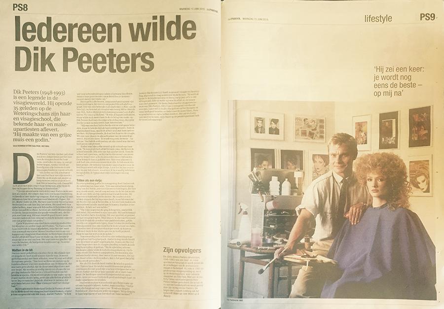 BLOG by Amber: Iedereen wilde Dik Peeters