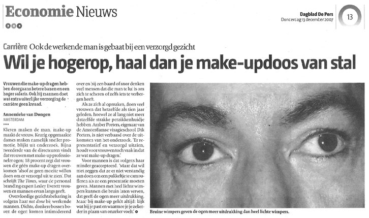 BLOG by Amber: Dagblad De Pers