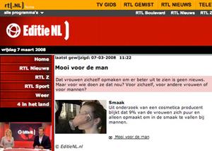 BLOG by Amber: Mooi voor de man; Amber Peeters bij Editie NL