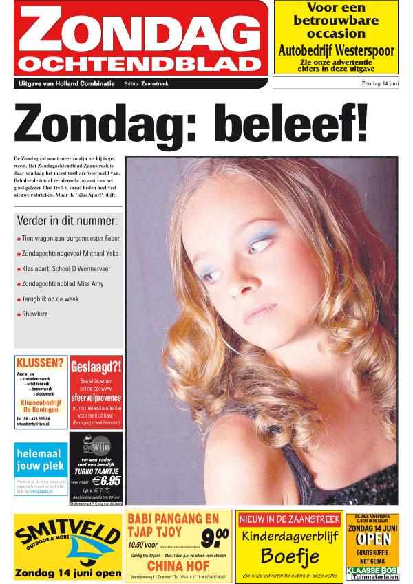 BLOG by Amber: Zondagochtendblad