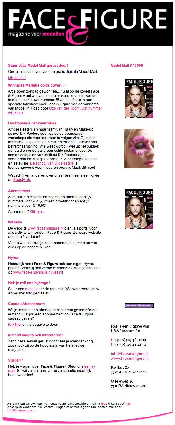 BLOG by Amber: Face & Figure, magazine voor modellen