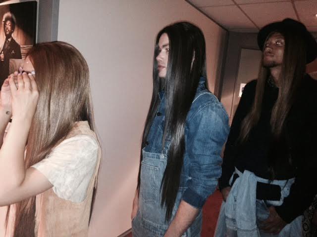 """BLOG by Amber: Afgelopen zondag de diamonds van Dik Peeters aan de slag bij modeshow """"men at work"""" in het hippe BAUT"""