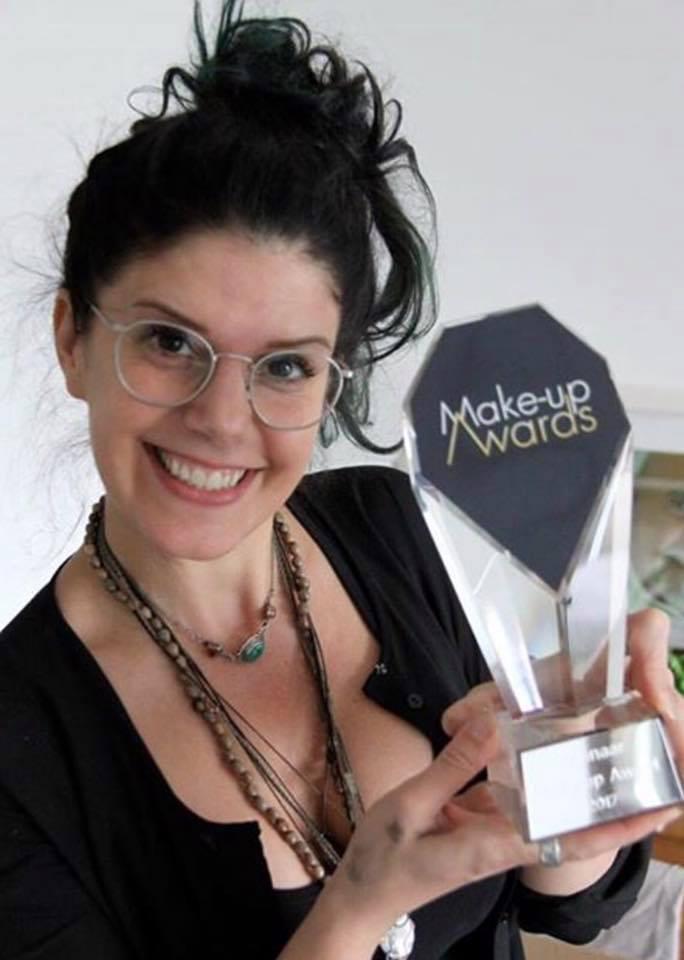 BLOG by Amber: Dik Peeters zwaar vertegenwoordigt bij de Make-up awards!! Een 1e en 2e plaats!